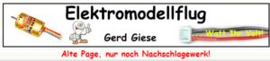 Webseite Gerd Giese