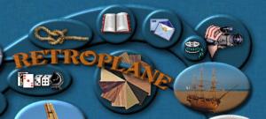 Retroplane Modell fliegen mit Oldtimer-Modellen