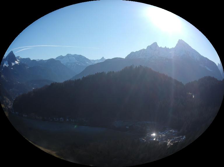 Drohnen fliegen in den Berchtesgadener Alpen, Watzmann und steinernes Meer