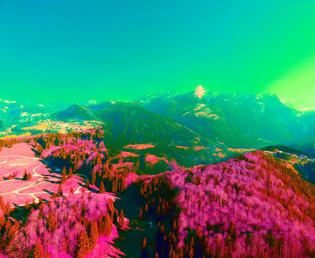Drohnen fliegen in Berchtesgaden, Jenner, Hohes Brett, Hoher Göll